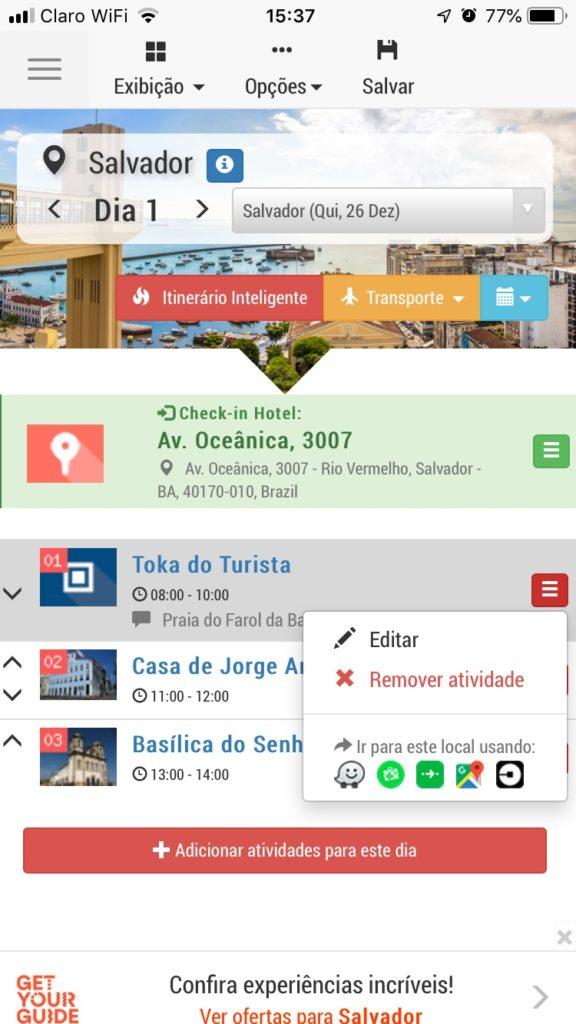 Tripsapp.com no Smartphone