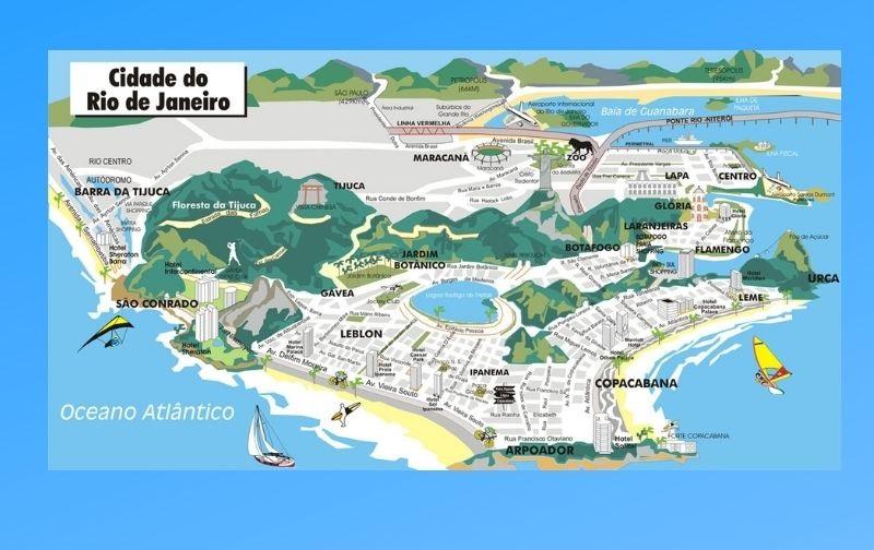 Infográfico Atrações Turísticas do Rio de Janeiro 2