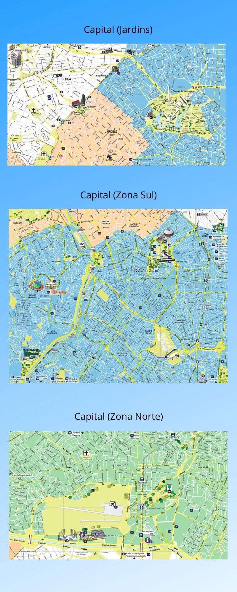 Infográfico Atrações Turísticas de São Paulo (Capital e Região Metropolitana) 3